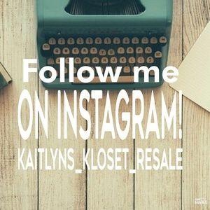 Other - Follow me on Instagram! @kaitlyns_kloset_resale